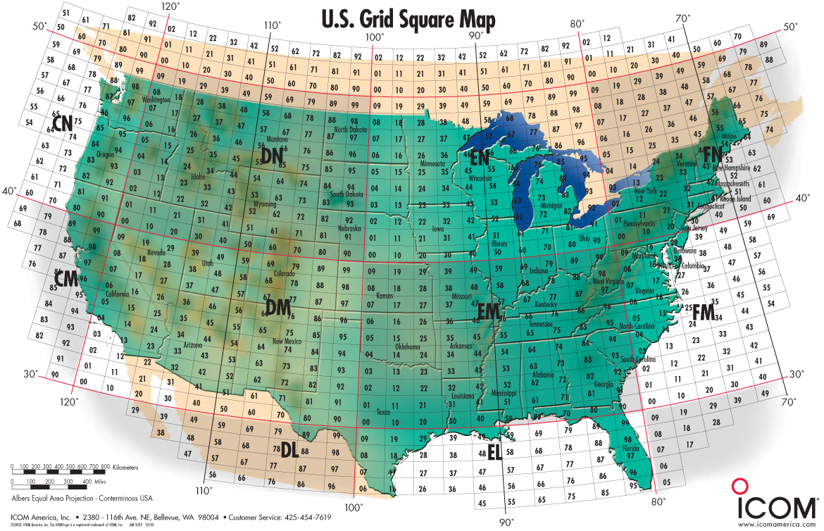 Ham radio resources band plan manuals grid map q signs gumiabroncs Images