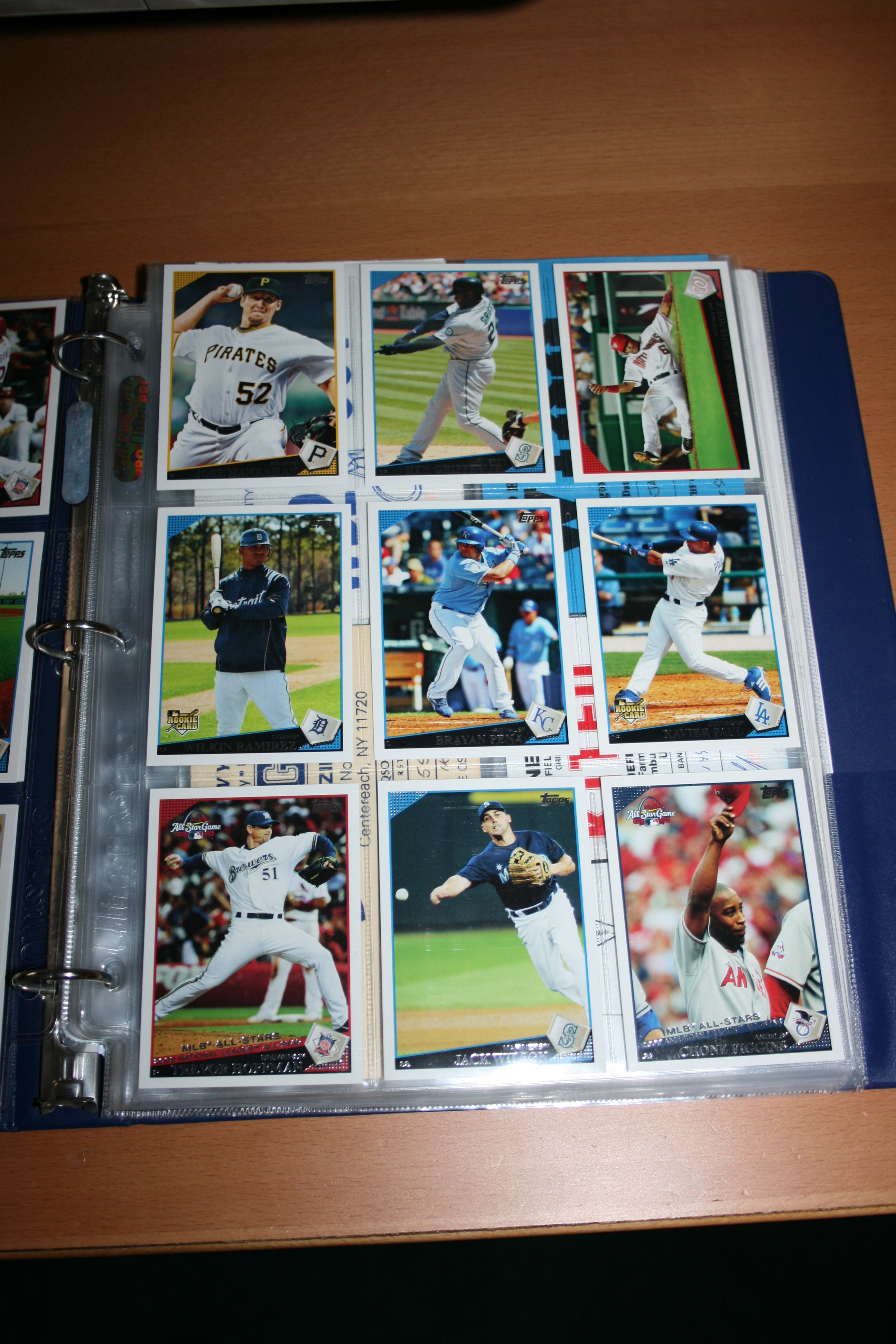 f98c4699092 Sport Card Binder Pages baseball cards football card supplies
